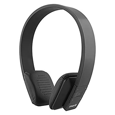 Merit Compact Wireless Bluetooth Stereo headphone with Built-in Microphone