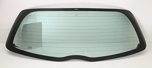 (Fits 2006-2011 Toyota Yaris 2 & 4 Door Hatchback Rear Back Window Glass Heated)