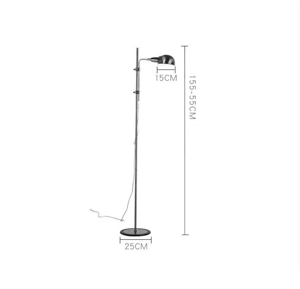 Edge to Stehlampe Metall Stehlampe Studie Wohnzimmer Wohnzimmer Wohnzimmer Nachttischlampe Eye-lit Grünikale Leselampe Mit Druckschalter Höhenverstellbar (Farbe   Gelb) B0797R9ZSZ | Online Store  8d3317