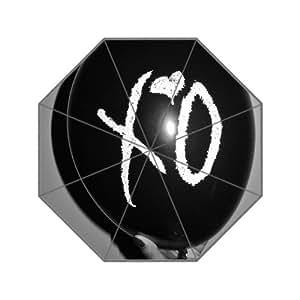 The Weeknd XO Custom Foldable Rain Umbrella Wind Resistant Wind Proof Floding Travel Umbrella