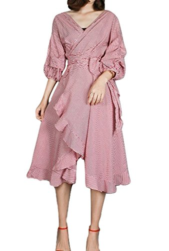 Poplin Wrap Dress - 5