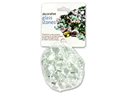 bulk buys - Decorative glass stones ( Case of 24 )