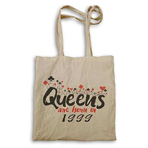 Königinnen werden 1999 geboren Tragetasche d214r