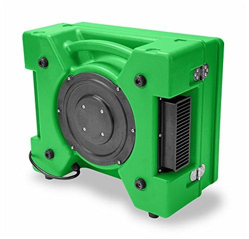 B-Air RA-650 HEPA Air Scrubber Commercial Industrial Grade Air Purifier Negative Air Machine for Water Damage Restoration, Green