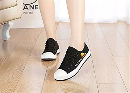 Bromeo One Piece Unisexe Toile Low-Top Sneaker Baskets Mode Chaussures
