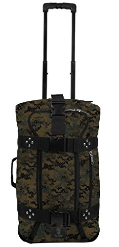 Club Duffle - Club Glove Mini Rolling Duffle III Travel Luggage (Camouflage)