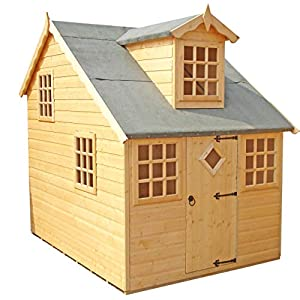 Shire Enchanted Cottage Playhouse Brown