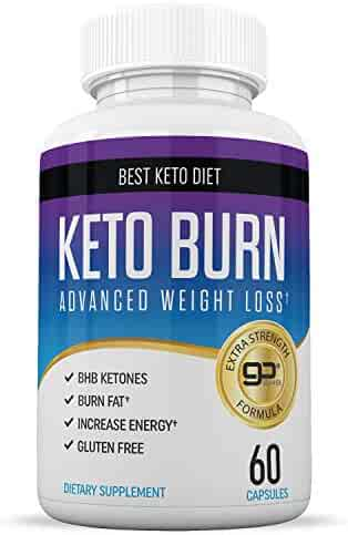 Best Keto Pills - Weight Loss Supplements to Burn Fat Fast - Boost Energy and Metabolism - Best Ketosis Supplement for Women and Men - Best Keto Diet - 60 Capsules