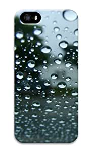 Full screen water droplets 3D Case customized iphone 5S covers for Apple iPhone 5/5S