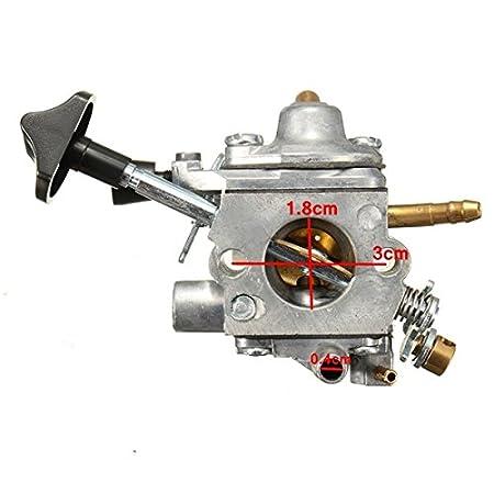 Alamor Carburador Carb Cortacésped Para C1Q S183 Stihl Br500 Br550 Br600: Amazon.es: Hogar