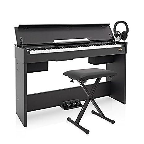 Piano Digital DP Compacto de Gearmusic  Accesorios Negro