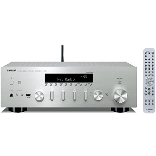 Price comparison product image YAMAHA network Hi-Fi receiver wide FM · AM tuner / Wi-Fi / Bluetooth / hi-res sound source corresponding R-N602 (S) Silver (Japan domestic product)