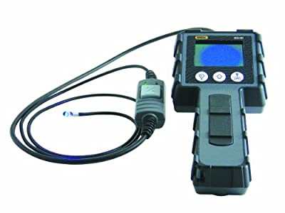 General Tools DCS1100 High Performance Video Borescope System with 4.9-MM Switchable Front and Side View Probe