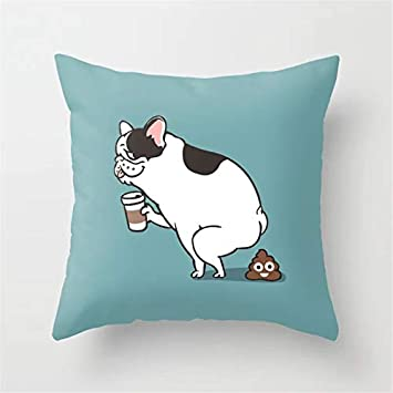 Amazon.com: LI QINGFANG Cartoon Cushion Pillow Cover Fashion ...