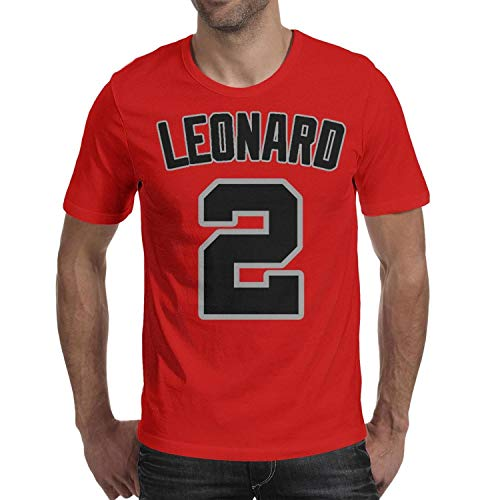 The-Claw-Klaw-Kawhi-Leonard-#2- Men T Shirts Funny Outdoor O-Neck Short Sleeve Tops