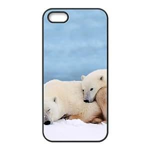 Customized case Of Polar Bear Hard Case for iPhone 5,5S by icecream design