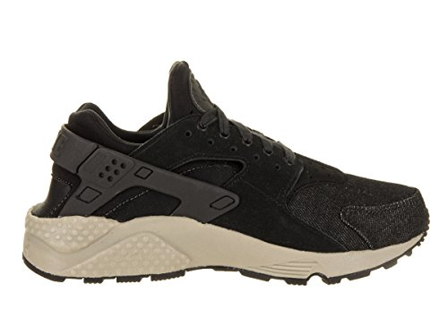 Nike Women Huarache Run Se Running Shoe Black / Dark Grey-cobblestone
