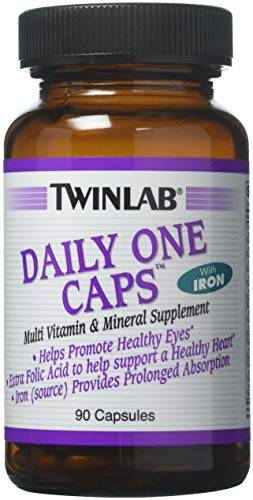 Daily One With Iron Twinlab, Inc 90 Caps