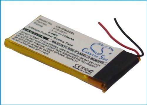 110mAh Battery Replacement for Applee iPod Nano 6th Generation iPod Nano 6th 616-0531 3.7V