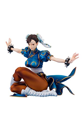 Fighters Girls Figure (Embracejapan Street Fighter III 3rd Strike: Fighters Legendary Chun-Li PVC Figure (1:8 Scale))