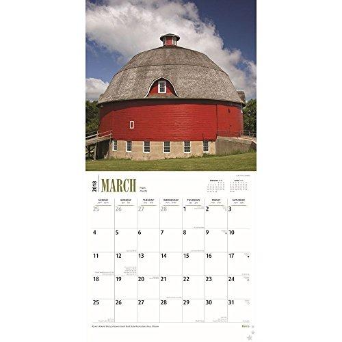 Barns 2018 Wall Calendar Photo #2