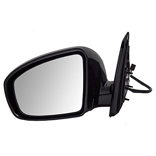 Drivers Power Side View Mirror Ready-to-Paint Replacement for Nissan Pathfinder 96302-3KA9A