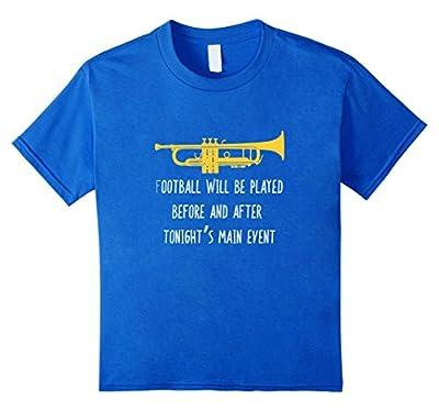 Funny Trumpet Shirt, Football vs Band 2 Player Gift