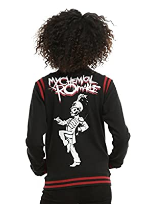 My Chemical Romance Black Parade Girls Varsity Jacket