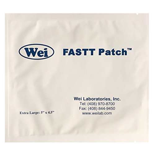 Wei Laboratories, FASTT Patch Extra Large 5'' x 4.5'' by Wei Laboratories
