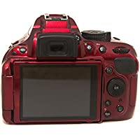 Nikon D5200 24.1 MP CMOS Digital SLR Camera Body Only (Red) (Discontinued by Manufacturer)