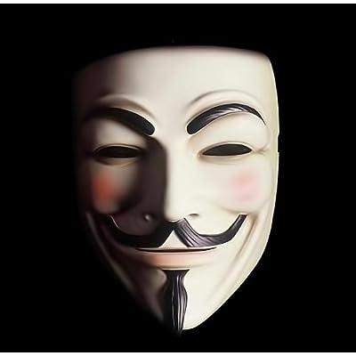 Résine masque Guy Fawkes V pour Vendetta très haute qualité fabriqué à la main