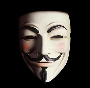 Mascara de guy fawkes