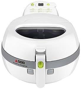 SEB Actifry 1kg Solo Independiente Hot air fryer 140W Blanco - Freidora (Hot air fryer, 1 kg, 4 personas(s), Solo, Blanco, Botones): Amazon.es: Hogar
