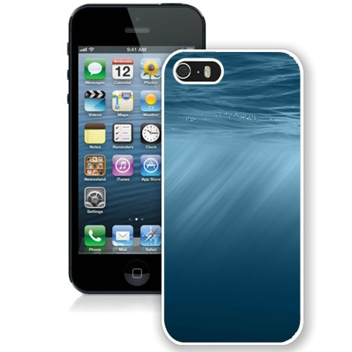 Coque,Fashion Coque iphone 5S Apple Ios 8 Underwater blanc Screen Cover Case Cover Fashion and Hot Sale Design