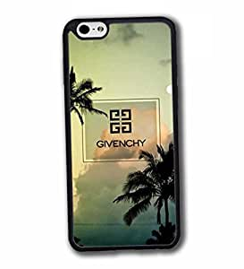 Case for iPhone 6 6S 4.7 Inch Funda Carcasa Case Ultra Slim Vintage Brands Logo Givenchy Impact Resistant Hard Plastic Printed Colourful Pattern Antipolvo Tapa for Woman