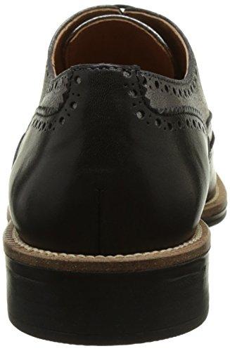 nero Zapatos De Schmoove Cordones preto Para Negro 15 Brogue Newton Mujer Richelieu SwAUqvT