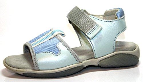 A051 naturino sandales enfant chaussures pour fille bleu taille 25 (sans boîte)