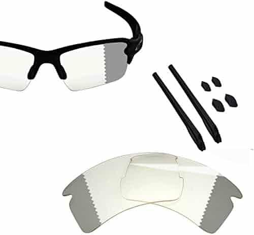 7bd69ab90fa5 BlazerBuck Anti-salt Polarized Replacement Lenses for Oakley Flak 2.0 XL