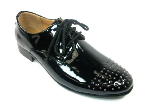 ther Studded Cap Toe Oxfords Dress Shoes (Studded Toe Cap)