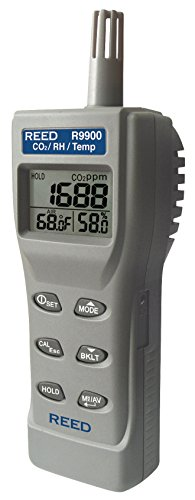 - REED Instruments R9900 Indoor Air Quality CO2 Meter
