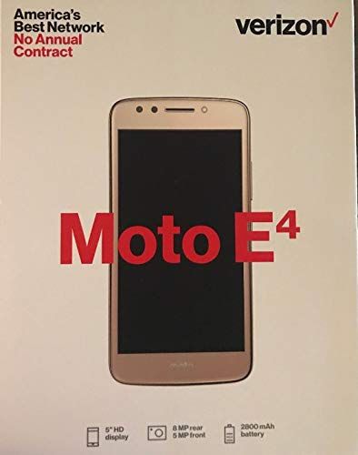 Moto E4 Verizon Prepaid - XT1765 16GB 5