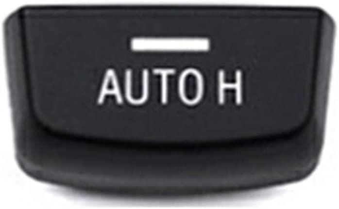 For BMW F Series 2014//07-2017//05 Replacement Parking Button Electronic Parking Switch Brake P and AUTO H Button Cover for 5 6 7 X3 X4 X5 X6 F Series F01 F02 F07 F10 F12 F15 F16 F25 F26