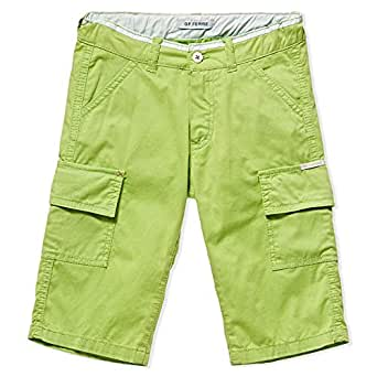 G Fer Green Cargo Short For Boys