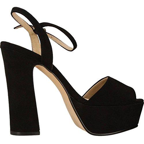 LA STRADA Sandalias y chanclas para mujer, color Negro, marca, modelo Sandalias Y Chanclas Para Mujer 795S Negro