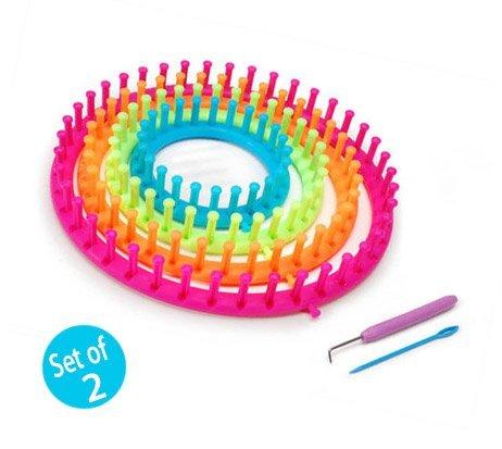 Darice 1171 58 Round Plastic Knitting