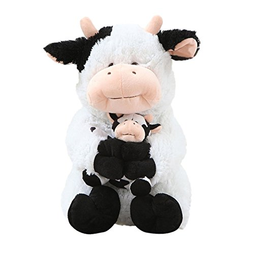 cuddly-plush-stuffed-animals-toy-mother-and-child-dairy-cow-doll-11-kids-plush-pillows-cushion-plush