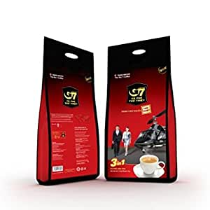 G7 3-in-1 The Original Instant Premium Vietnamese Coffee, 100 Servings/Sachets