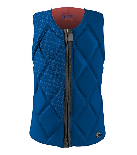 Jacket Gem (O'Neill Women's Gem Comp Life Vest, Deep Sea/Coral, 6)