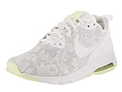 Nike Women's Air Max Motion Lw Eng Whitewhitebarely Volt Running Shoe 8 Women Us