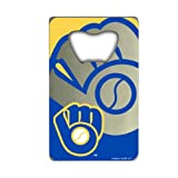 MLB Milwaukee Brewers Credit Card Style Bottle Opener
